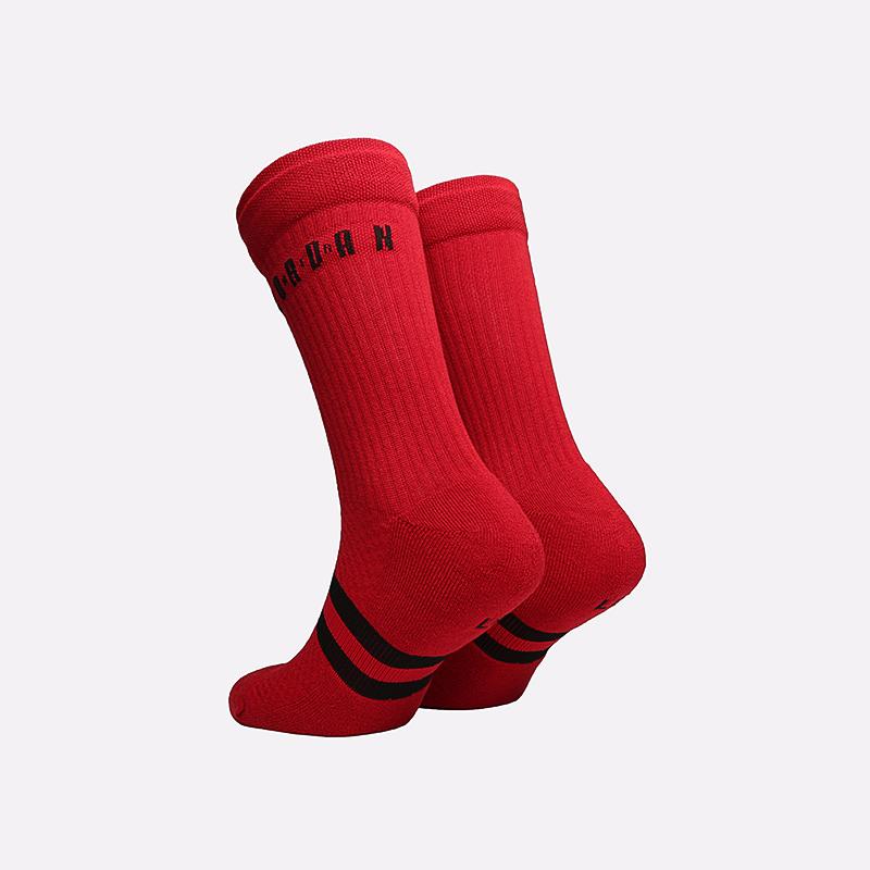 мужские красные  носки jordan legacy crew SK0025-687 - цена, описание, фото 2