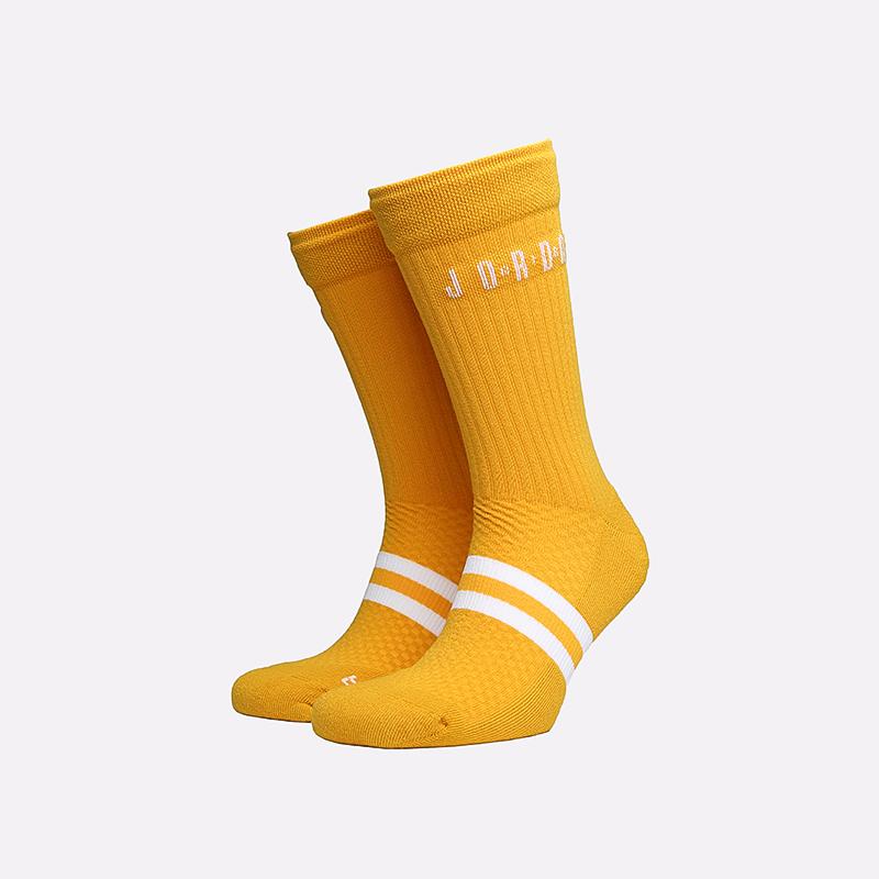 мужские жёлтые  носки jordan legacy crew SK0025-743 - цена, описание, фото 1