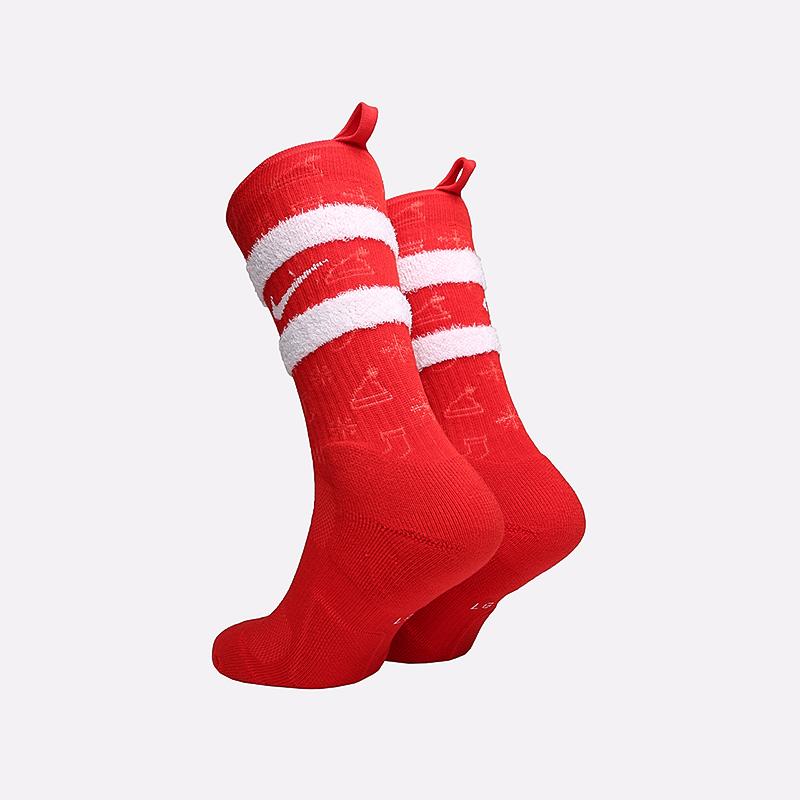 мужские красные  носки nike xmas CK6786-657 - цена, описание, фото 2