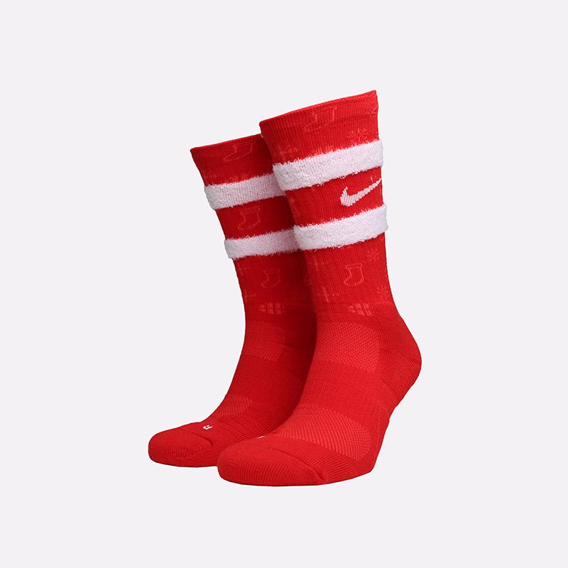 мужские красные  носки nike xmas CK6786-657 - цена, описание, фото 1