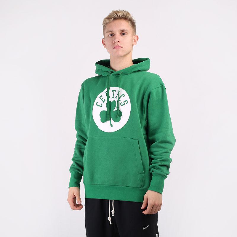мужскую зеленую  толстовка nike boston celtics essential nba pullover hoodie CN1189-312 - цена, описание, фото 1