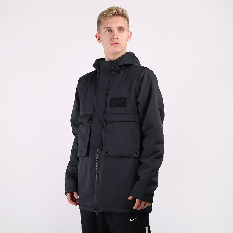 мужскую черную  куртку nike lebron basketball jacket CK6771-010 - цена, описание, фото 1