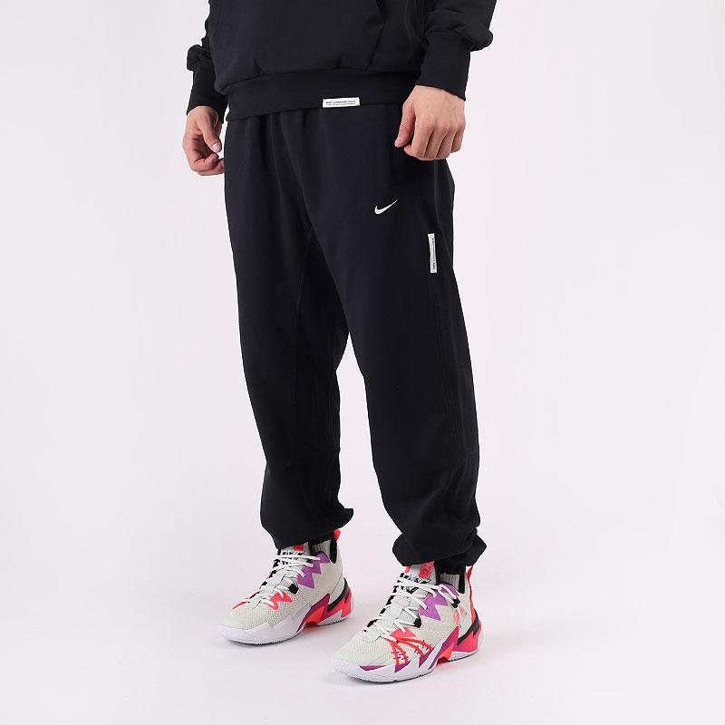 мужские черные  брюки nike dri-fit standard issue basketball trousers CK6365-010 - цена, описание, фото 1