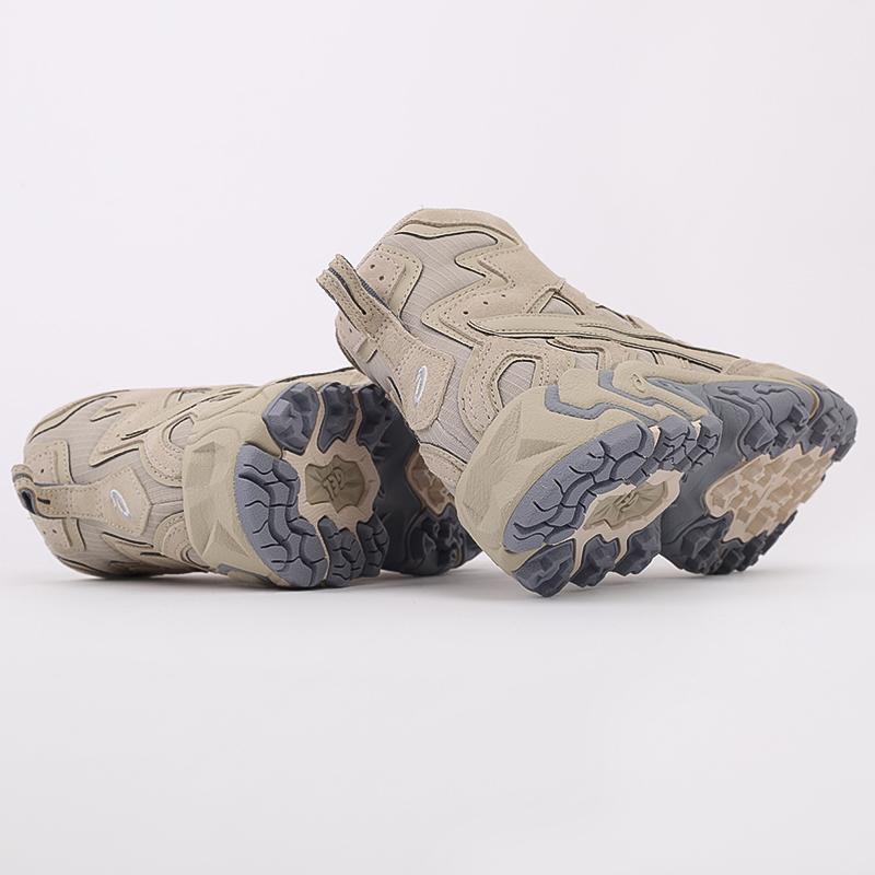 мужские бежевые  кроссовки asics gel-nandi hi 1021A475-200 - цена, описание, фото 3