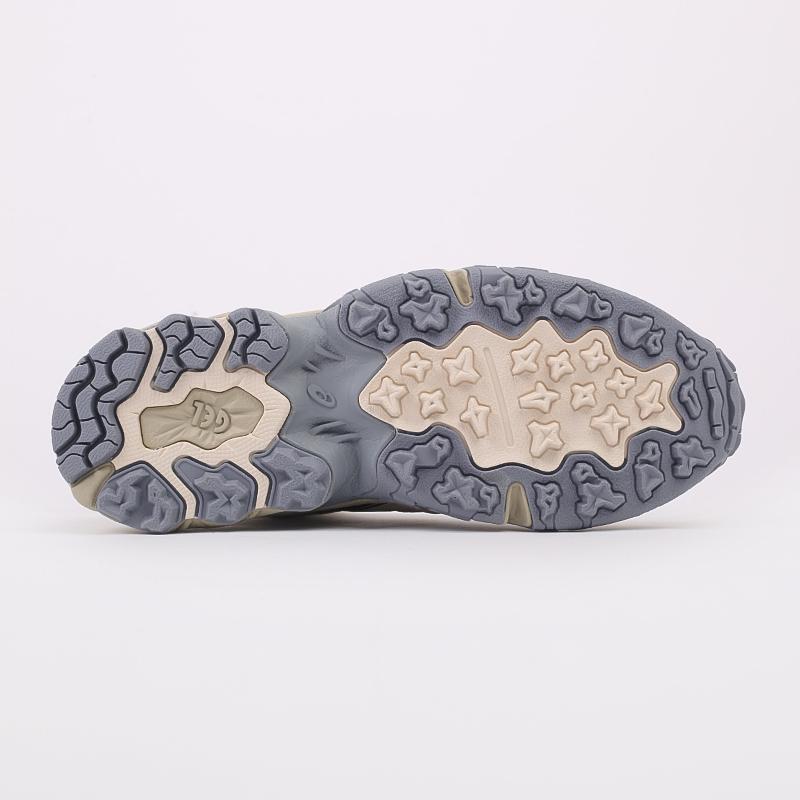 мужские бежевые  кроссовки asics gel-nandi hi 1021A475-200 - цена, описание, фото 4