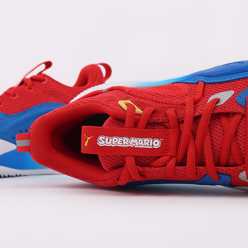 красные  кроссовки puma rs-dreamer super mario 64 19460601 - цена, описание, фото 7