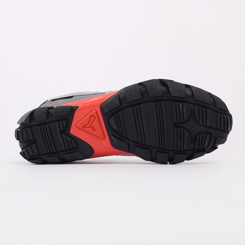чёрные, серые  кроссовки puma centaur x attempt 37351801 - цена, описание, фото 7