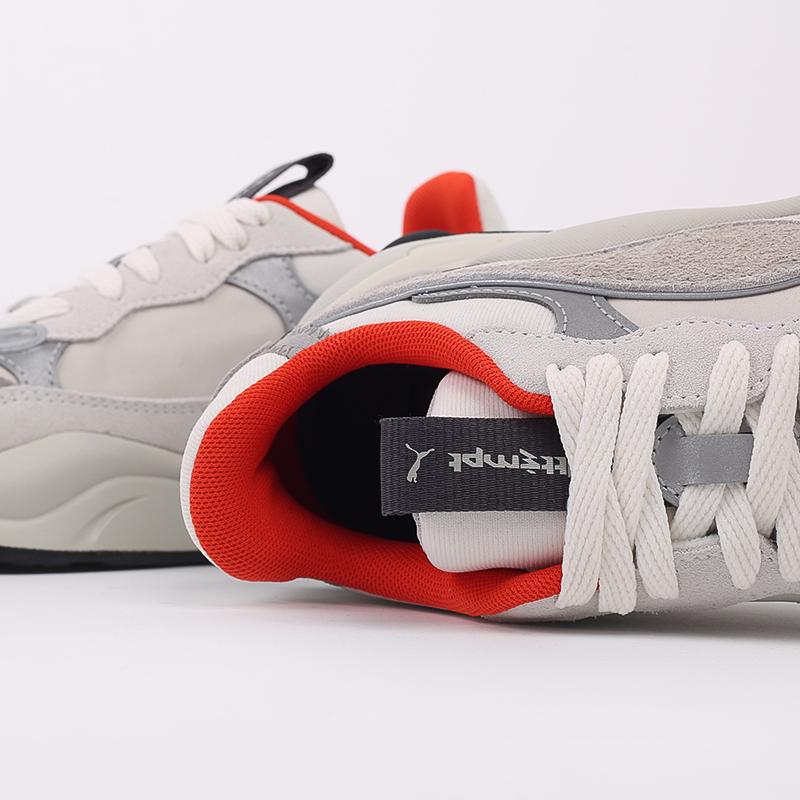 бежевые  кроссовки puma rs-2k x attempt 37351601 - цена, описание, фото 7