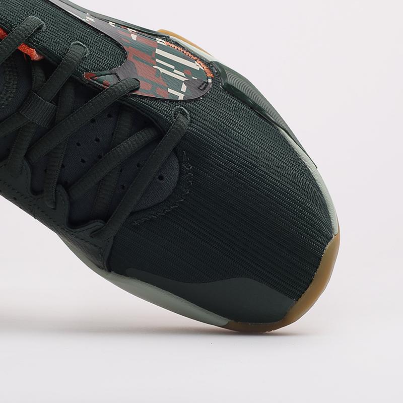 зелёные  кроссовки nike zoom freak 2 DC9853-300 - цена, описание, фото 8
