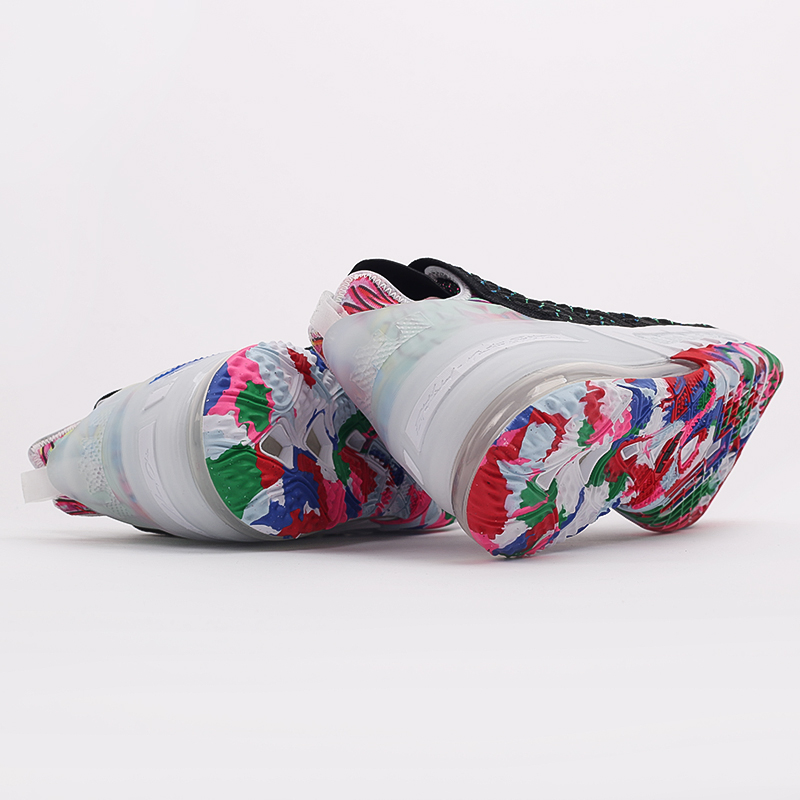 мужские чёрные  кроссовки nike lebron xviii CQ9283-002 - цена, описание, фото 3