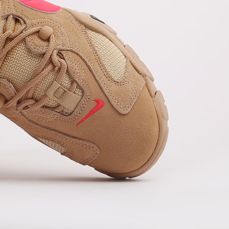 мужские бежевые  кроссовки nike air barrage low CT2290-200 - цена, описание, фото 6