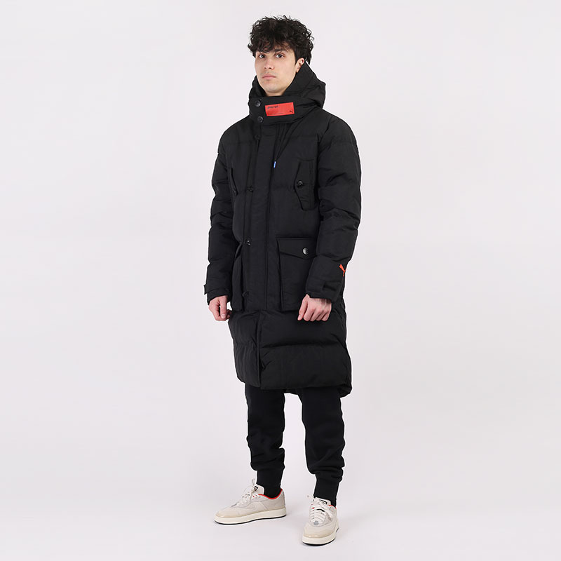 мужскую черную  куртку puma x attempt down coat 59825301 - цена, описание, фото 1