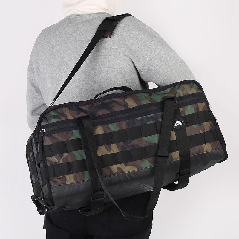 зеленую  сумка nike sb skate duffle bag 49l CZ1863-010 - цена, описание, фото 1