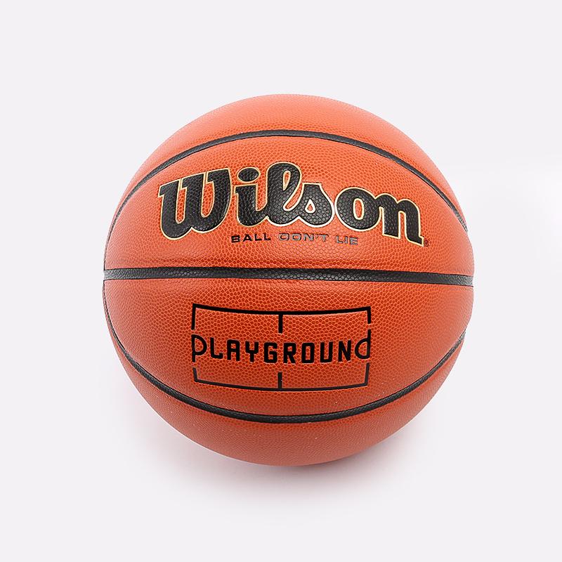оранжевый  мяч №7 wilson playground WTB0516XBPG - цена, описание, фото 1