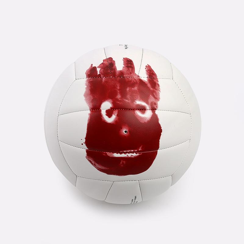 белый  мяч волейбольный wilson castaway WTH4615XDEF - цена, описание, фото 1