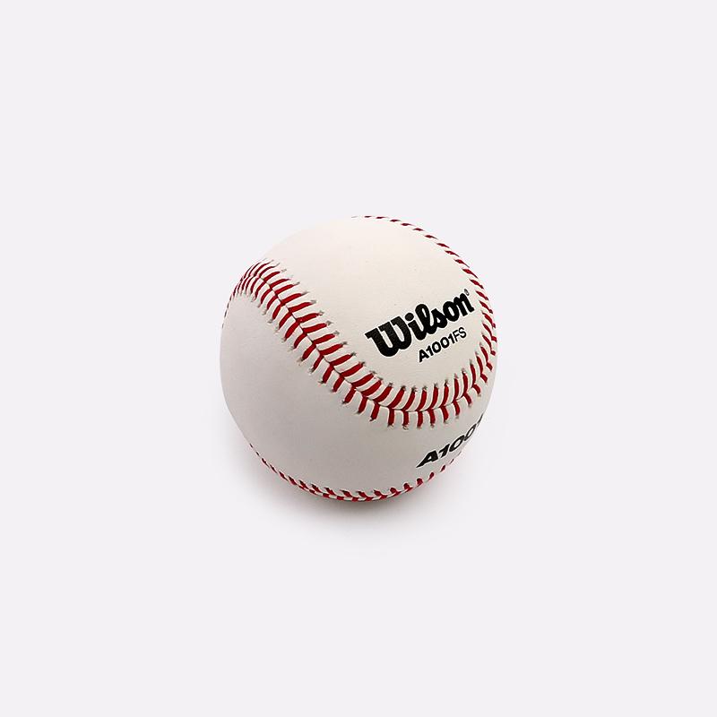 белый  мяч бейсбольный wilson a1001 WTA1001BFS - цена, описание, фото 1
