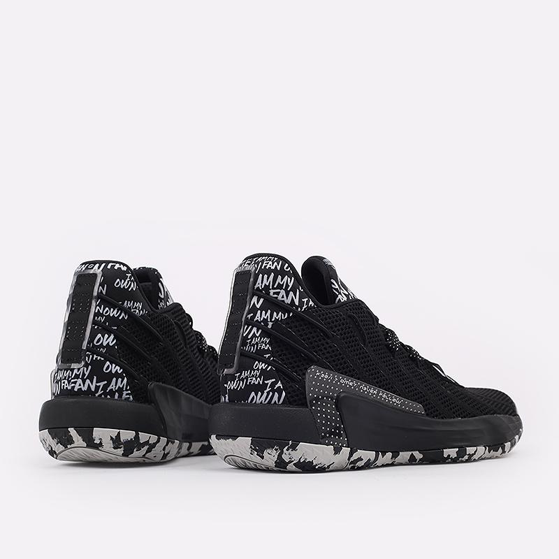 чёрные  кроссовки adidas dame 7 FX6615 - цена, описание, фото 3