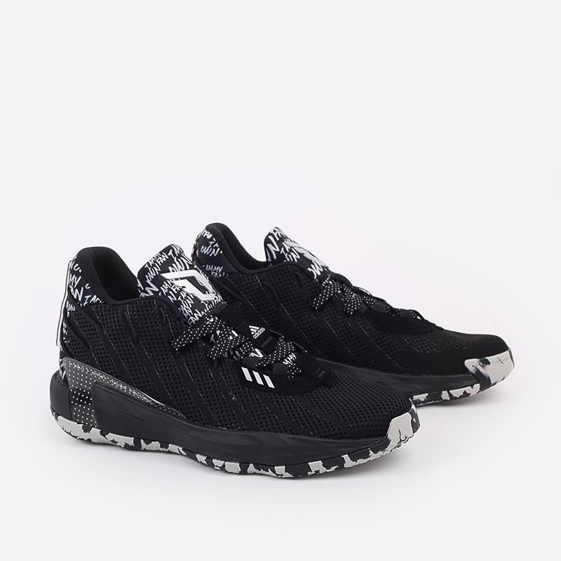 чёрные  кроссовки adidas dame 7 FX6615 - цена, описание, фото 5