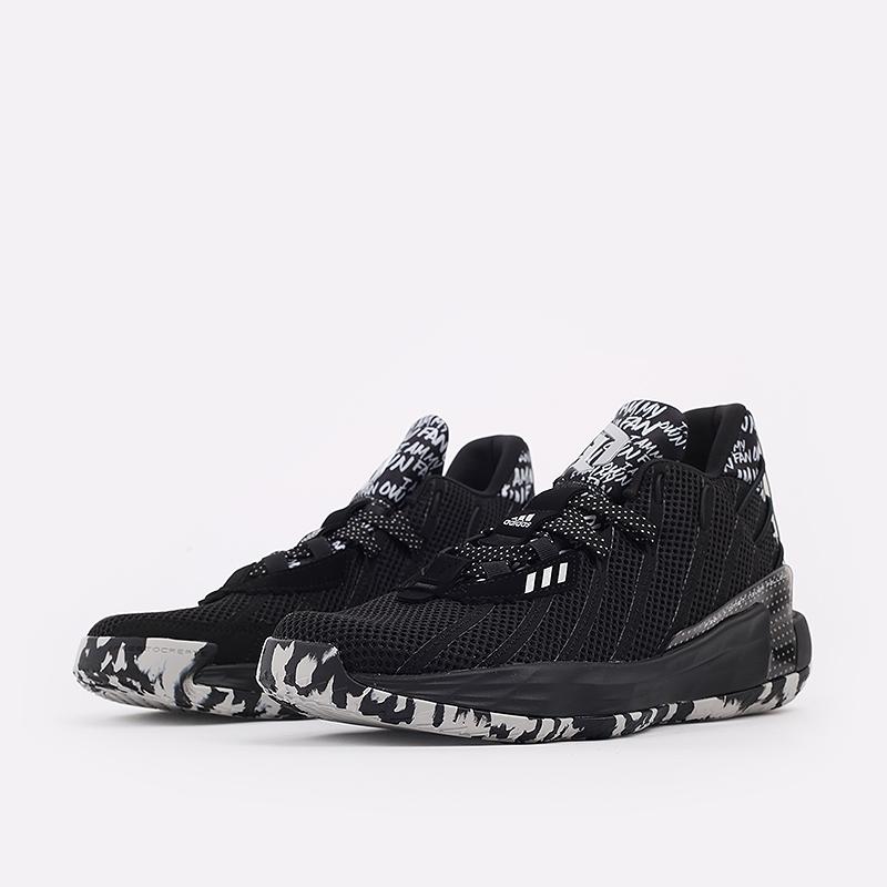 чёрные  кроссовки adidas dame 7 FX6615 - цена, описание, фото 2