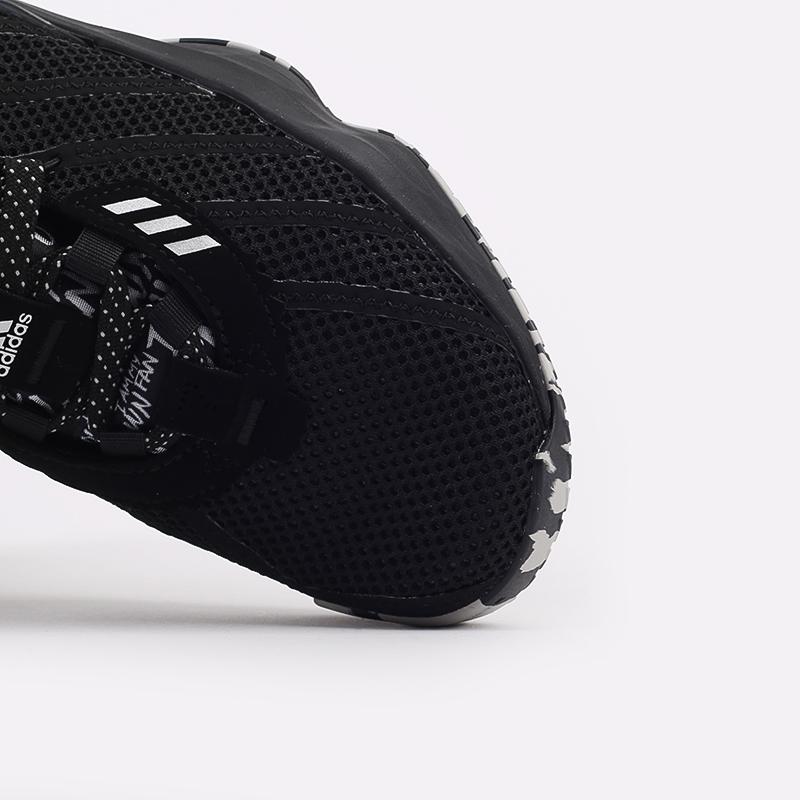 чёрные  кроссовки adidas dame 7 FX6615 - цена, описание, фото 8
