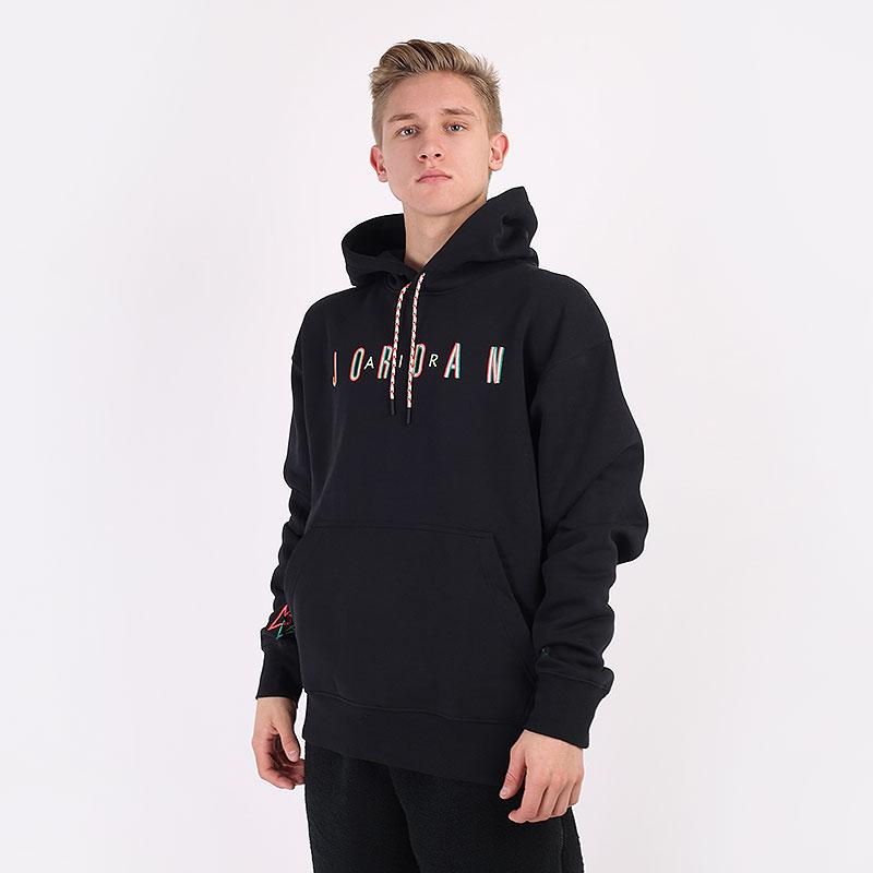 мужскую черную  толстовка jordan sport dna fleece pullover hoodie CK9567-011 - цена, описание, фото 1