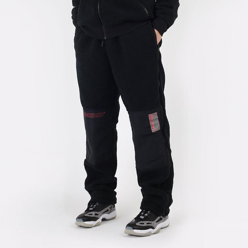 мужские черные  брюки jordan 23 engineered zipped fleece trousers CV1098-010 - цена, описание, фото 1