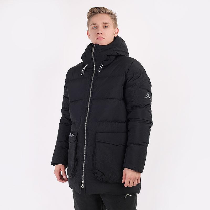мужскую черную  куртку jordan down parka CK6661-010 - цена, описание, фото 1