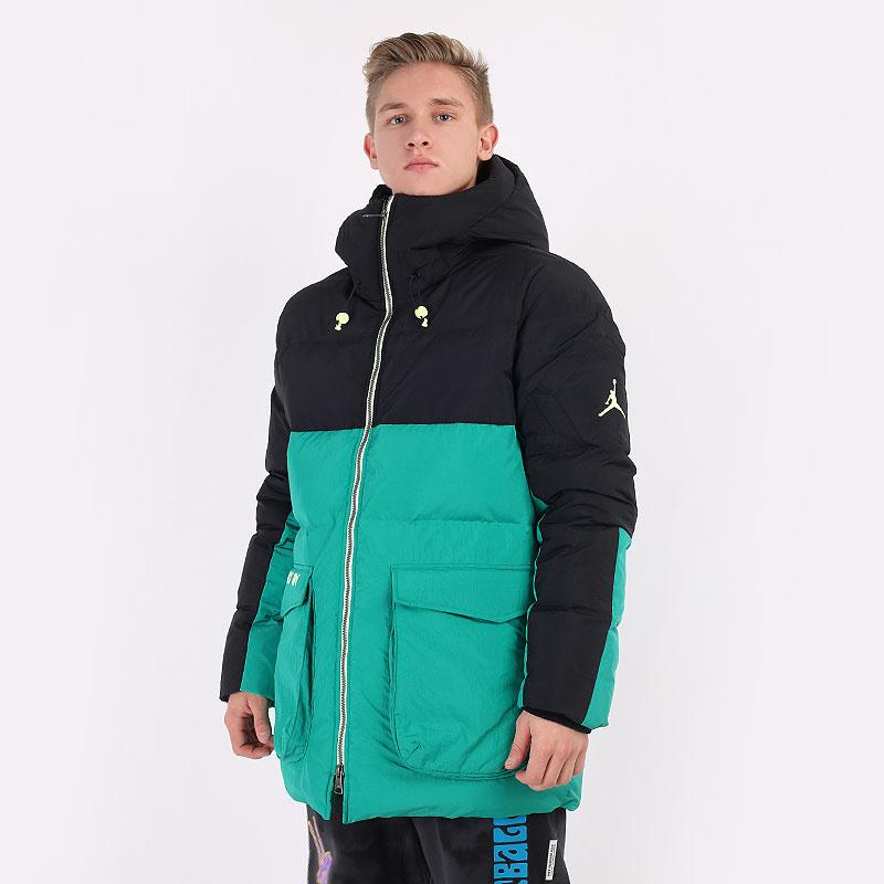 мужскую разноцветную  куртку jordan down parka CK6661-011 - цена, описание, фото 1