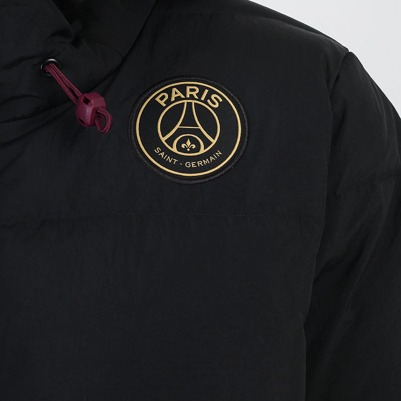 мужскую черную  куртку jordan paris saint-germain down parka solid CW3173-010 - цена, описание, фото 4