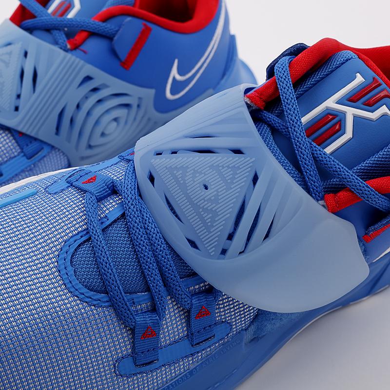 мужские голубые  кроссовки nike kyrie low 3 CJ1286-400 - цена, описание, фото 5