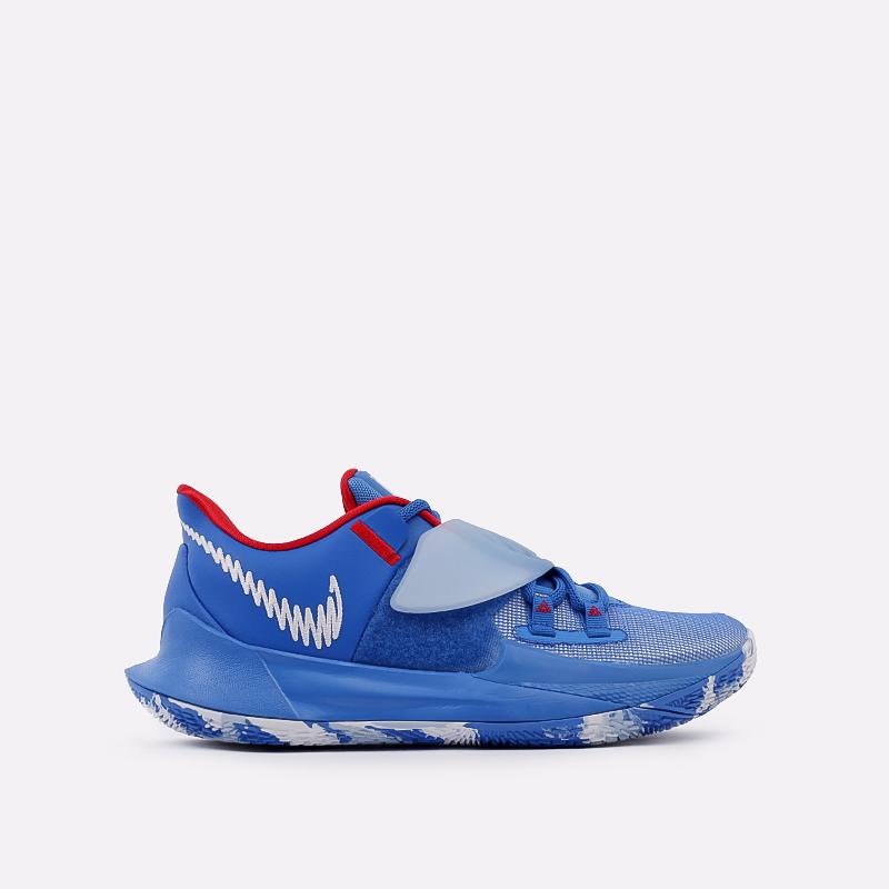 мужские голубые  кроссовки nike kyrie low 3 CJ1286-400 - цена, описание, фото 1