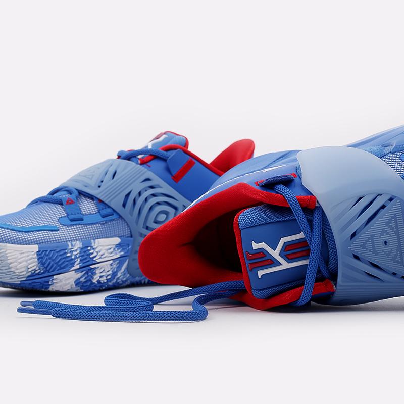 мужские голубые  кроссовки nike kyrie low 3 CJ1286-400 - цена, описание, фото 6