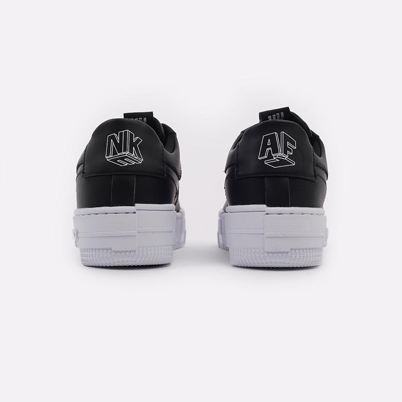 женские чёрные  кроссовки nike wmns air force 1 pixel CK6649-001 - цена, описание, фото 3