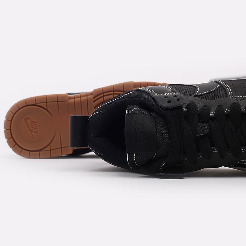 женские чёрные  кроссовки nike wmns dunk low disrupt CK6654-002 - цена, описание, фото 6