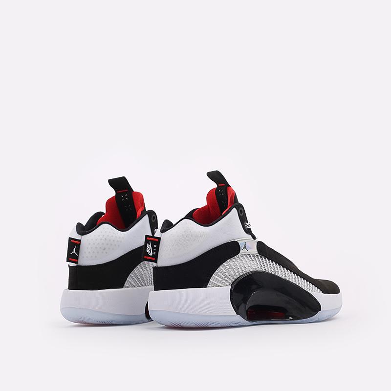 мужские белые  кроссовки jordan xxxv CQ4227-001 - цена, описание, фото 3