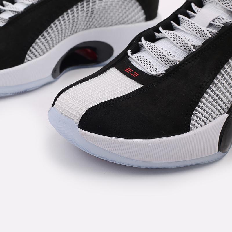 мужские белые  кроссовки jordan xxxv CQ4227-001 - цена, описание, фото 8