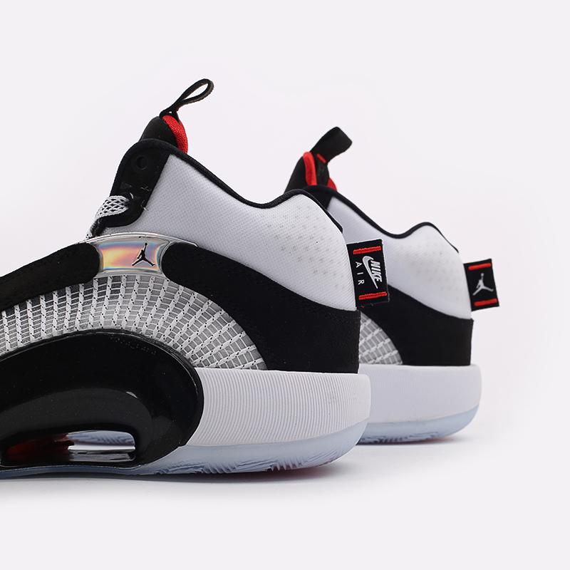 мужские белые  кроссовки jordan xxxv CQ4227-001 - цена, описание, фото 9