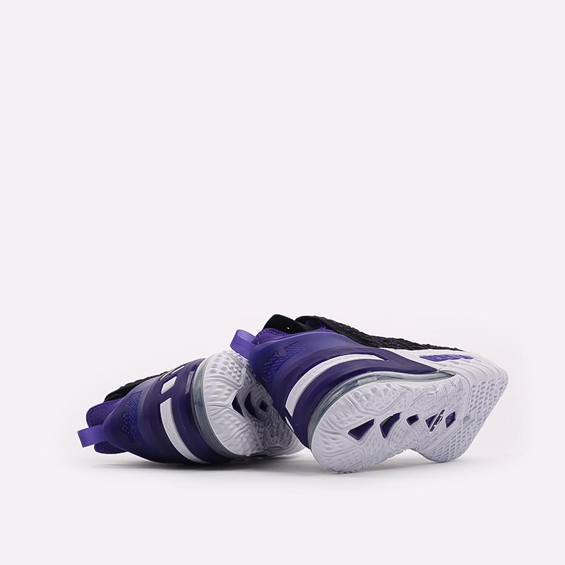 мужские чёрные  кроссовки nike lebron xviii CQ9283-004 - цена, описание, фото 3
