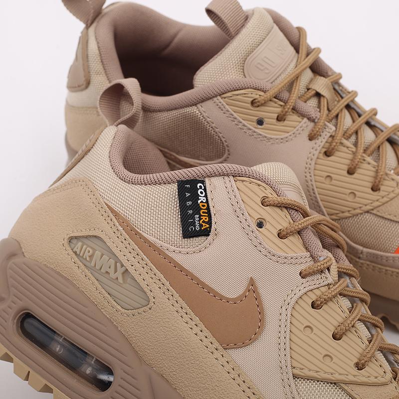 мужские бежевые  кроссовки nike air max 90 surplus CQ7743-200 - цена, описание, фото 5