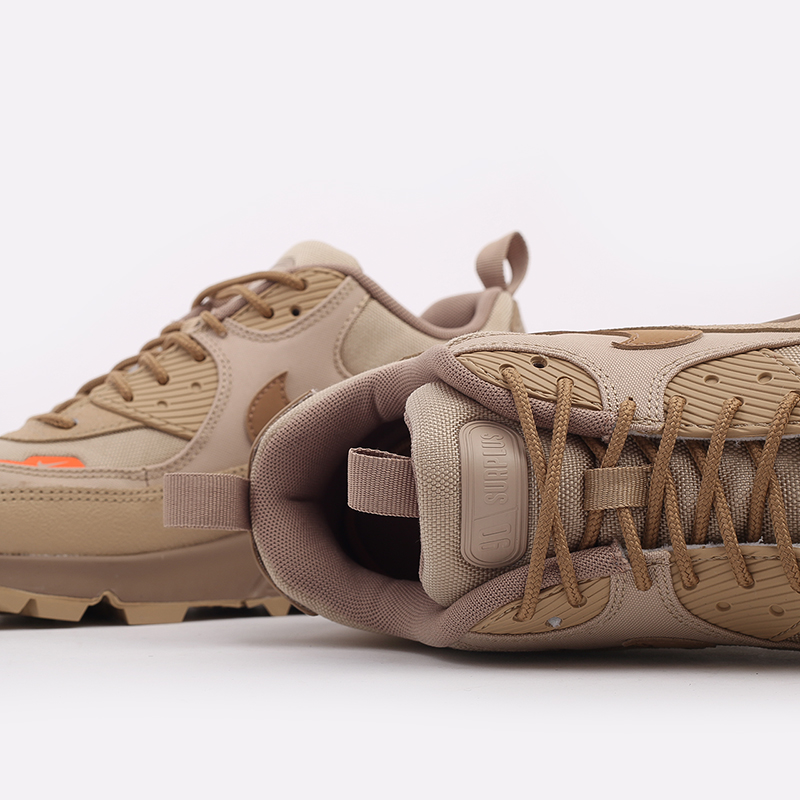 мужские бежевые  кроссовки nike air max 90 surplus CQ7743-200 - цена, описание, фото 8