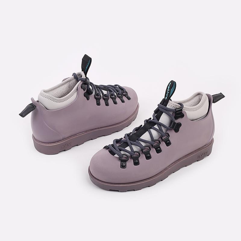 фиолетовые  ботинки native fitzsimmons citylite 31106800-5361 - цена, описание, фото 5