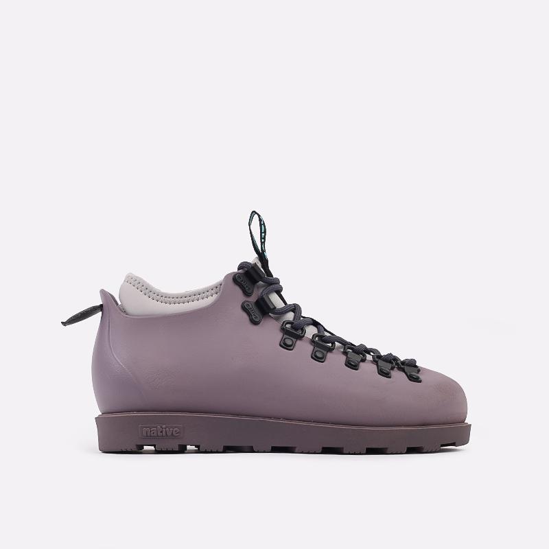 фиолетовые  ботинки native fitzsimmons citylite 31106800-5361 - цена, описание, фото 1