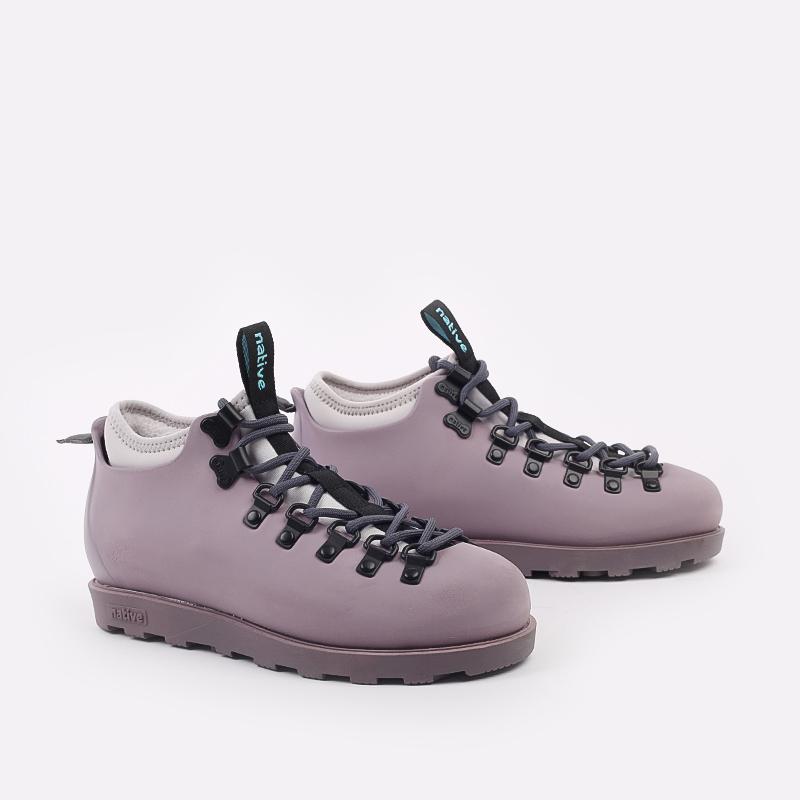 фиолетовые  ботинки native fitzsimmons citylite 31106800-5361 - цена, описание, фото 2