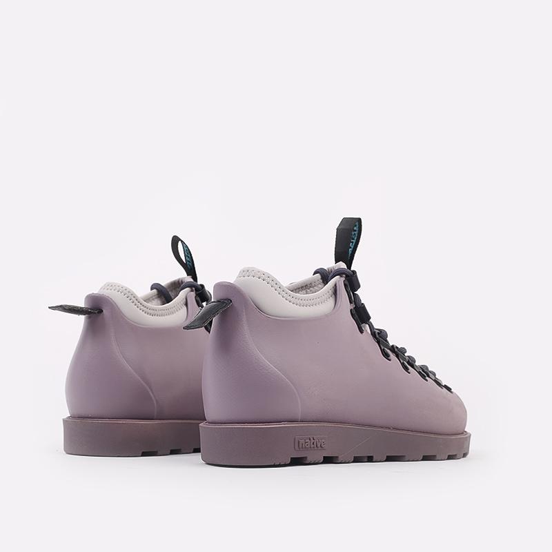 фиолетовые  ботинки native fitzsimmons citylite 31106800-5361 - цена, описание, фото 3