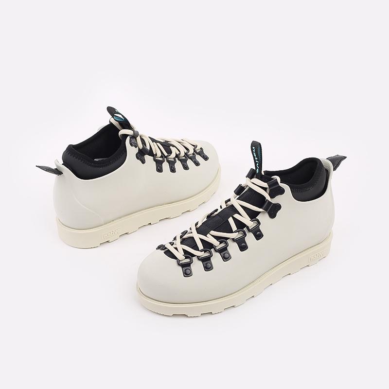 бежевые  ботинки native fitzsimmons citylite 31106800-1880 - цена, описание, фото 5