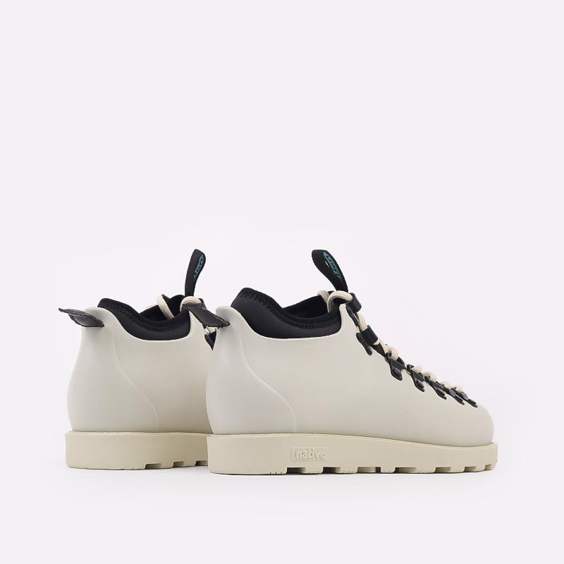бежевые  ботинки native fitzsimmons citylite 31106800-1880 - цена, описание, фото 3