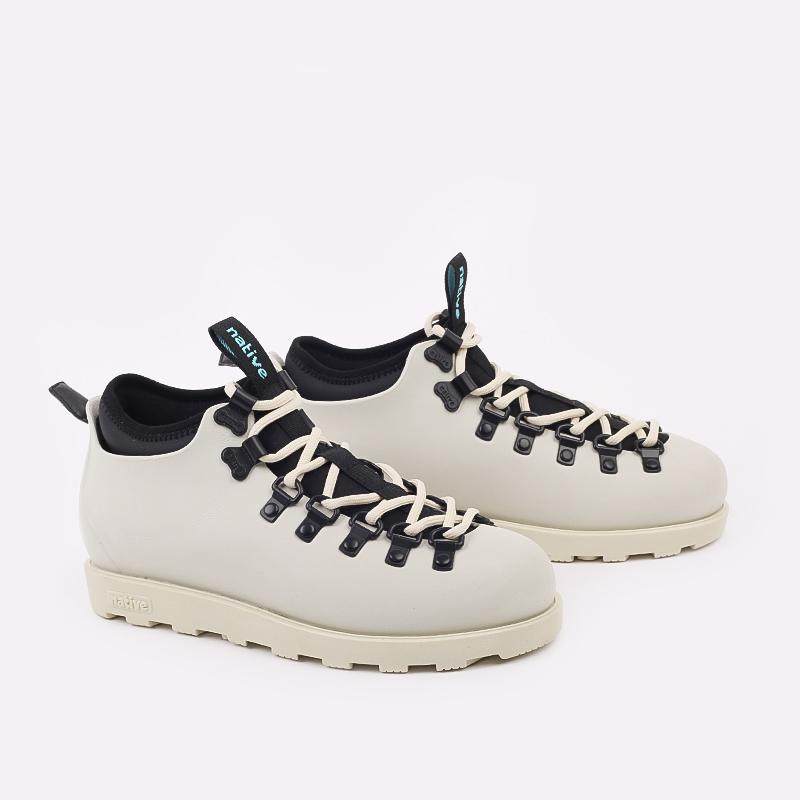 бежевые  ботинки native fitzsimmons citylite 31106800-1880 - цена, описание, фото 2