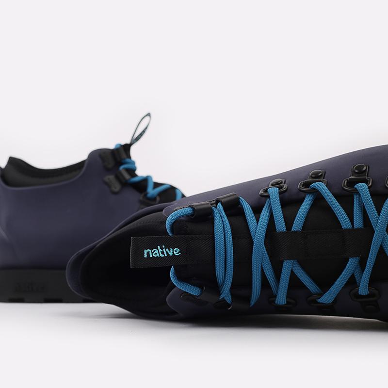 мужские синие  ботинки native fitzsimmons citylite 31106800-4998 - цена, описание, фото 8