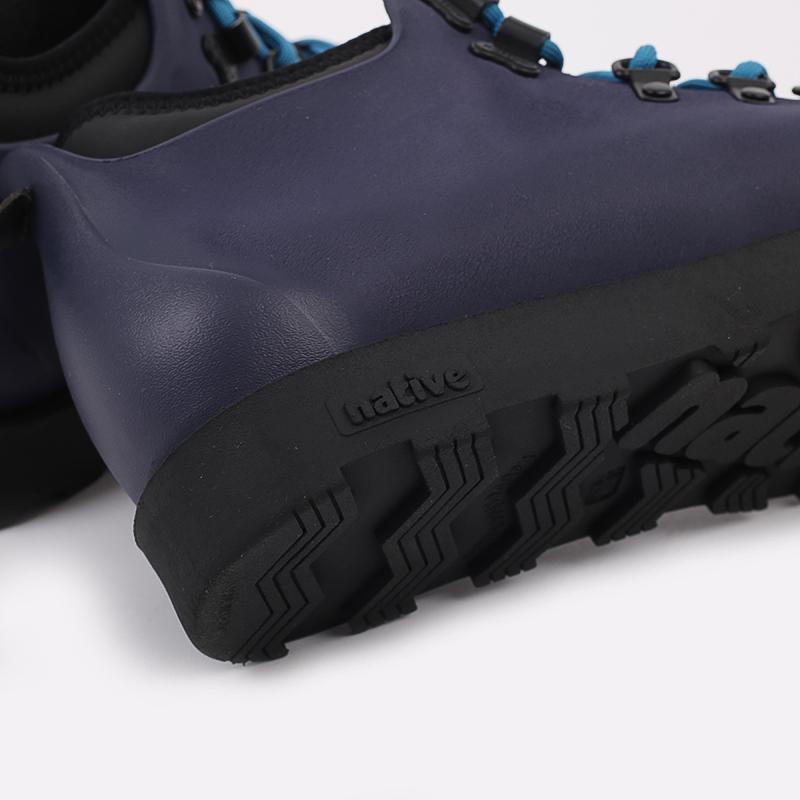 мужские синие  ботинки native fitzsimmons citylite 31106800-4998 - цена, описание, фото 7