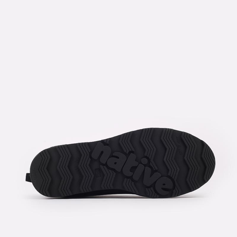 мужские синие  ботинки native fitzsimmons citylite 31106800-4998 - цена, описание, фото 4